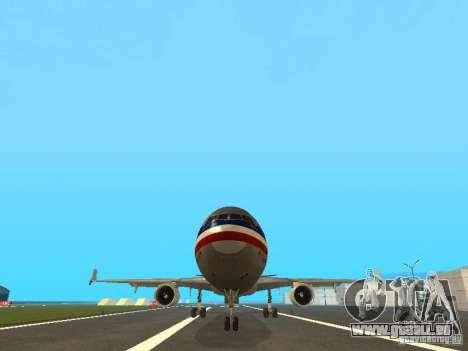 McDonell Douglas MD11 American Airlines pour GTA San Andreas vue de côté