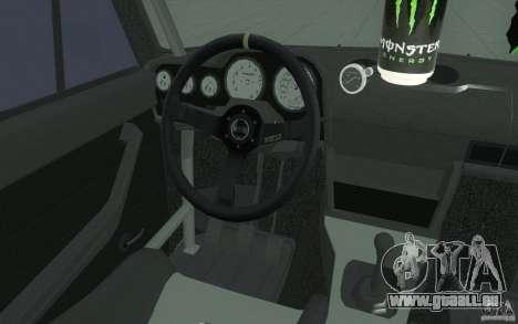 L'écoute de Drift Lada VAZ 2106 pour GTA San Andreas vue de dessus