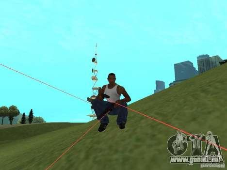 Laser Weapon Pack für GTA San Andreas her Screenshot