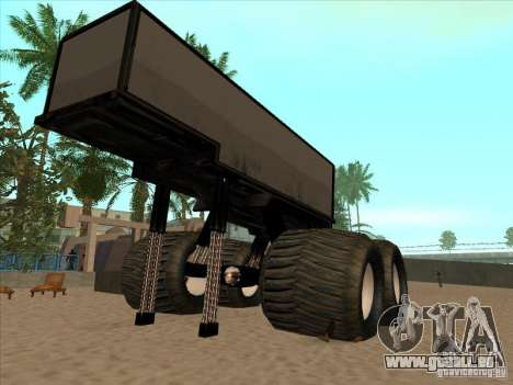 Remorque pour camion monstrueux pour GTA San Andreas
