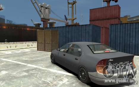 Kuruma de GTA 3 pour GTA 4 Vue arrière de la gauche