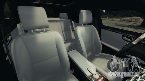 Mercedes-Benz W221 S500 2006 für GTA 4 Innenansicht