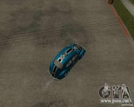 VW Fusca Gremio für GTA San Andreas zurück linke Ansicht