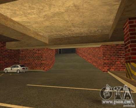 Nouvelle police garage LSPD pour GTA San Andreas deuxième écran