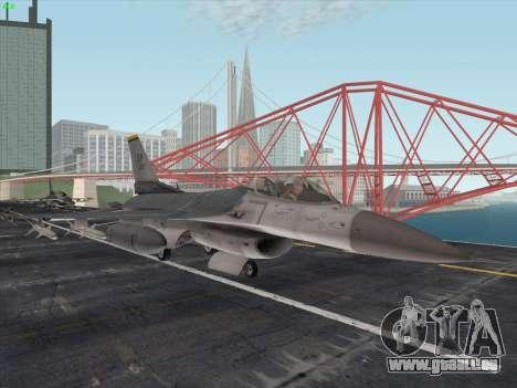 F-16C Warwolf pour GTA San Andreas