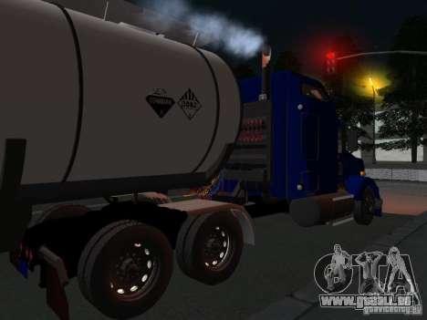 Kenwort T800 Carlile für GTA San Andreas zurück linke Ansicht