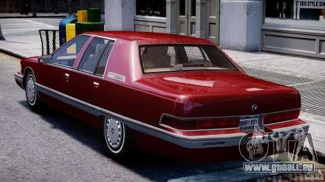 Buick Roadmaster Sedan 1996 v 2.0 für GTA 4 rechte Ansicht