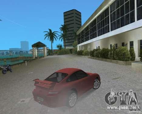 Porsche 911 GT3 pour GTA Vice City sur la vue arrière gauche