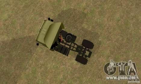 KAMAZ 5460 peau 3 pour GTA San Andreas vue arrière