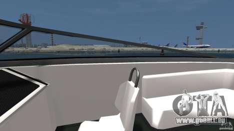 Nouveau Jetmax pour GTA 4 est une vue de l'intérieur