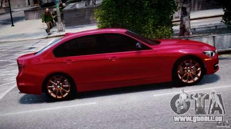 BMW 335i E30 2012 Sport Line v1.0 für GTA 4 Seitenansicht