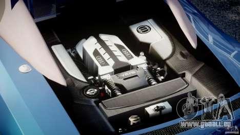 Audi R8 Spyder v2 2010 für GTA 4 rechte Ansicht
