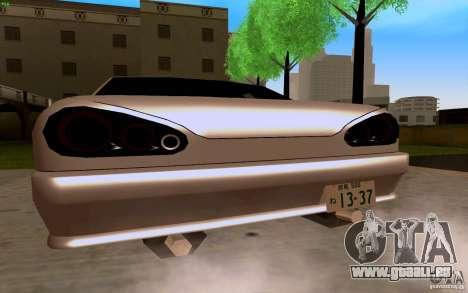 Nouvelle élégie pour GTA San Andreas sur la vue arrière gauche