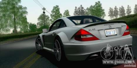 Mercedes-Benz SL65 AMG Black Series für GTA San Andreas linke Ansicht