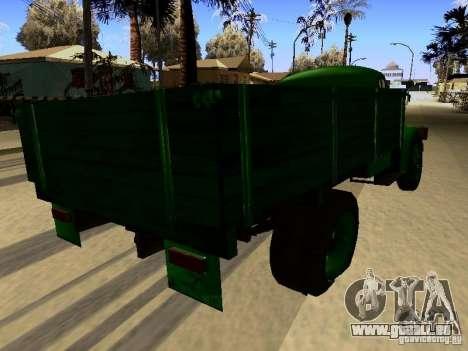GAS-51A für GTA San Andreas rechten Ansicht