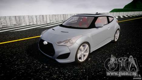 Hyundai Veloster Turbo 2012 pour GTA 4 Vue arrière
