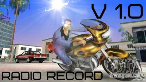 Radio Record by BuTeK pour GTA Vice City