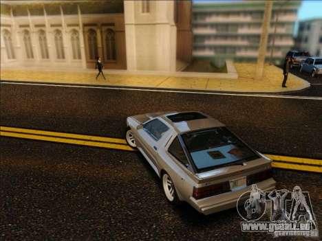 Mitsubishi Starion ESI-R 1986 für GTA San Andreas linke Ansicht