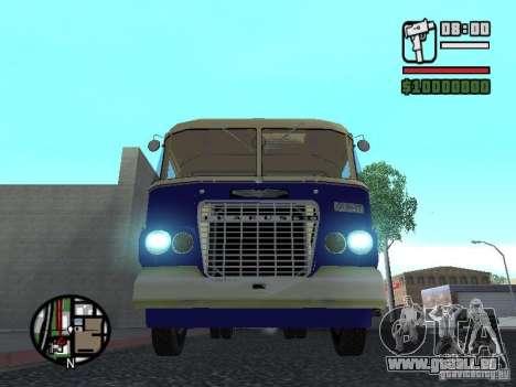Ikarus 630 pour GTA San Andreas laissé vue