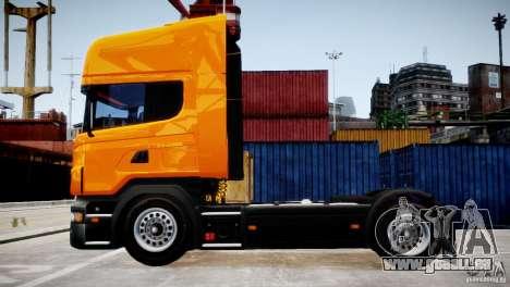 Scania R500 pour GTA 4 est une gauche