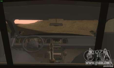Ford Crown Victoria Idaho Police pour GTA San Andreas vue de droite