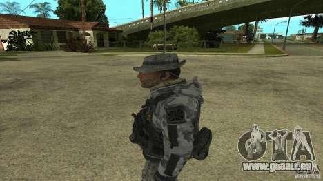 Captain Price pour GTA San Andreas deuxième écran