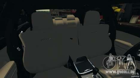 Dodge Charger SRT8 2012 v2.0 pour GTA 4 est une vue de l'intérieur