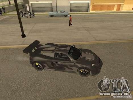 Porsche Carrera GT pour GTA San Andreas vue intérieure