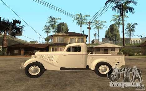 GAZ M415 pour GTA San Andreas laissé vue