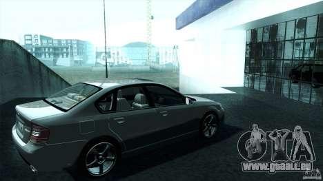 Subaru Legacy B4 3.0R specB pour GTA San Andreas laissé vue