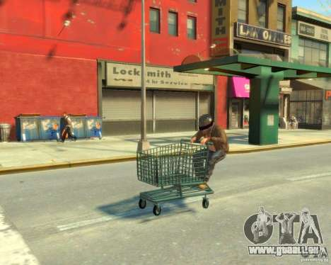 Chariot pour GTA 4 est un droit