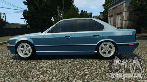 BMW E34 V8 540i für GTA 4 linke Ansicht