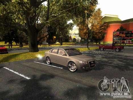 Audi A4 3.0 TDI Quattro 2005 pour GTA San Andreas laissé vue