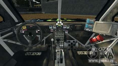 Hummer H3 raid t1 pour GTA 4 Vue arrière