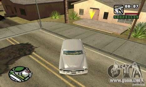 Houstan Wasp (Mafia 2) pour GTA San Andreas vue arrière
