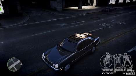 Mercedes w210 1998 (E280) pour GTA 4