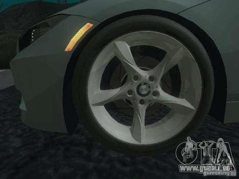BMW Z4 pour GTA San Andreas moteur