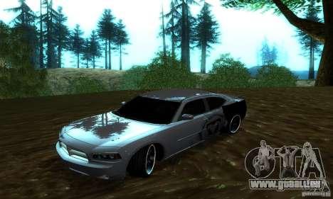 Dodge Charger SRT8 Mopar für GTA San Andreas Rückansicht