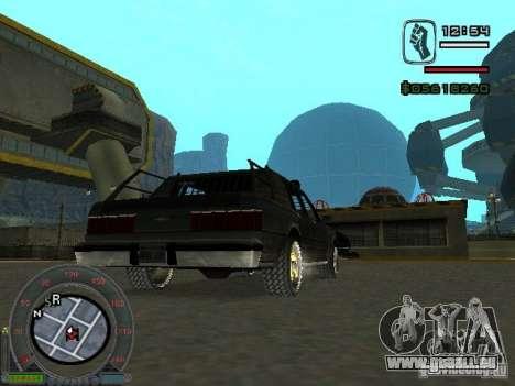 Die neue Greenwood für GTA San Andreas zurück linke Ansicht
