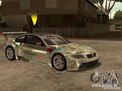 BMW M3 GT2 für GTA San Andreas Rückansicht