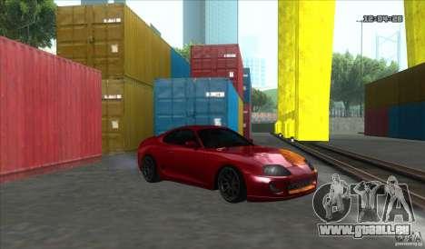Toyota Supra Stance für GTA San Andreas