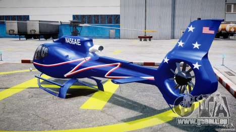 Eurocopter EC130B4 NYC HeliTours REAL für GTA 4 hinten links Ansicht