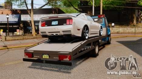 Mercedes-Benz Sprinter 3500 Car Transporter pour GTA 4 Vue arrière de la gauche