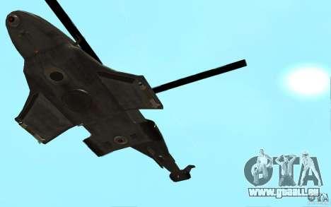 Scout Drone from BO2 pour GTA San Andreas vue de droite