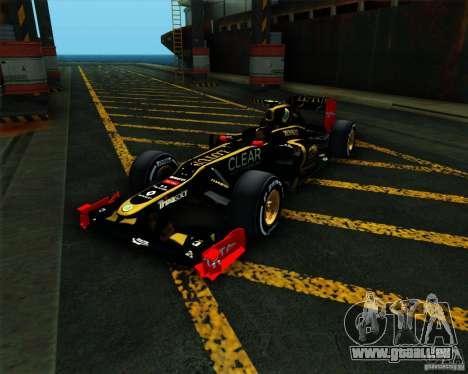 Lotus E20 F1 2012 pour GTA San Andreas
