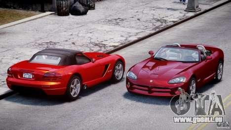 Dodge Viper SRT-10 2003 1.0 pour GTA 4 est un côté