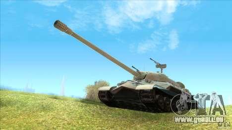 IS-7 Heavy Tank pour GTA San Andreas laissé vue