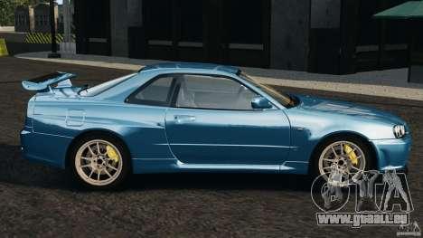 Nissan Skyline GT-R R34 2002 v1.0 pour GTA 4 est une gauche