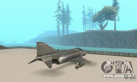 F-4E Phantom II für GTA San Andreas linke Ansicht