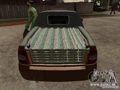 LADA 2170 Pickup für GTA San Andreas Seitenansicht